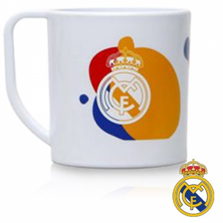 TAZA REAL MADRID 225ML PLASTICO