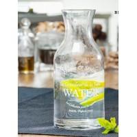 Botella Agua Lujo
