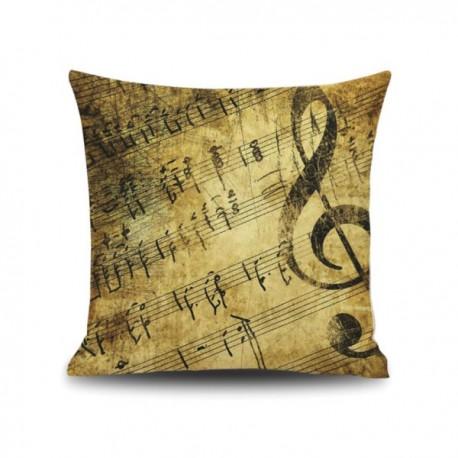 Almohada Música Vintage