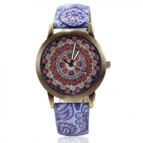 Reloj Flor Mandala