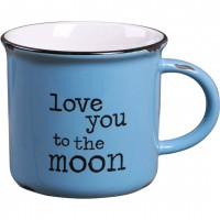 Taza Retro Love You