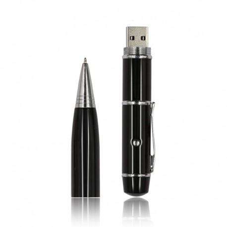 Bolígrafo Negro USB