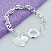 PULSERA - DOBLE CORAZON
