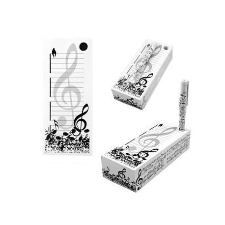 Bloc Notas Música