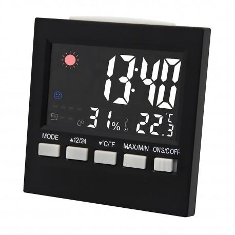Reloj Despertador Termometro