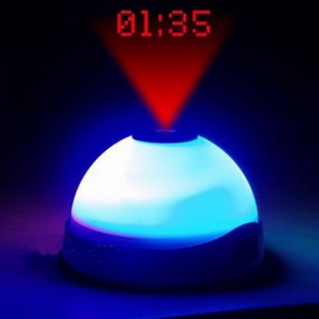 Reloj Despertador Proyector