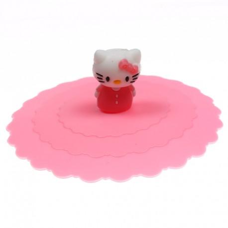 Tapa Silicona Hello Kitty