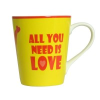 Taza Mensaje All You Need Is Love