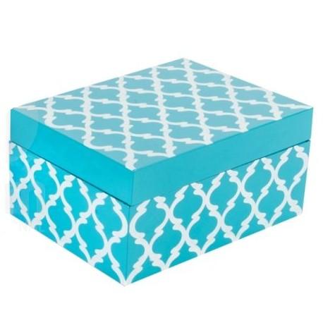 Caja Bambú Blue