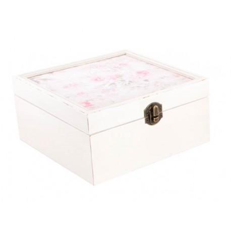 Caja Flor Shabby