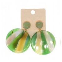 Pendientes Oro Verde