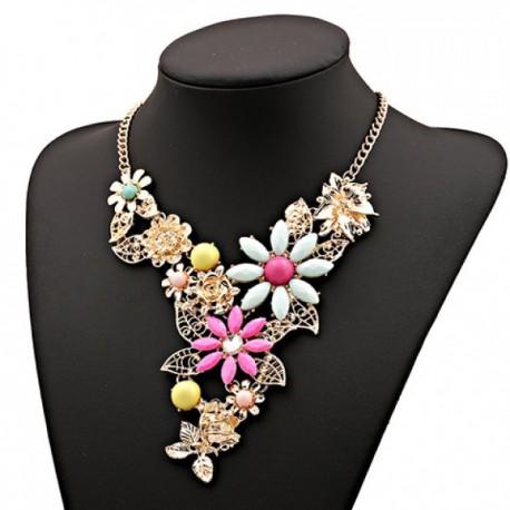 Collar Etnico Flores