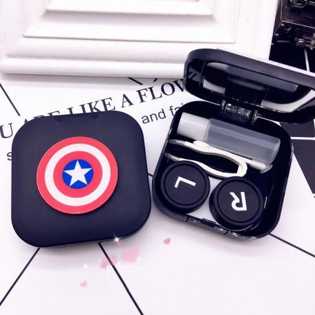 Caja Lentillas Capitán América