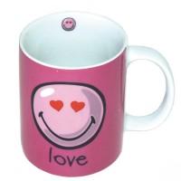 Taza Emoticono Love