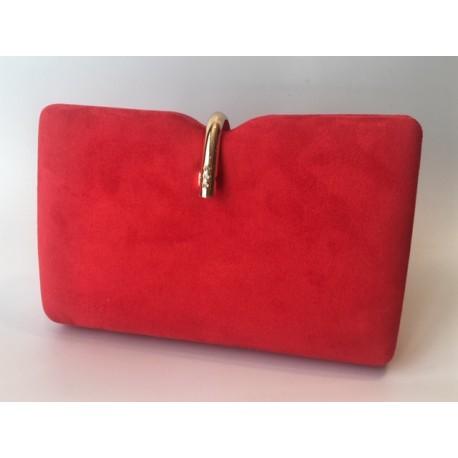 Bolso Fiesta Rojo Oro