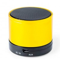 Altavoz Bluetooth Mini Amarillo
